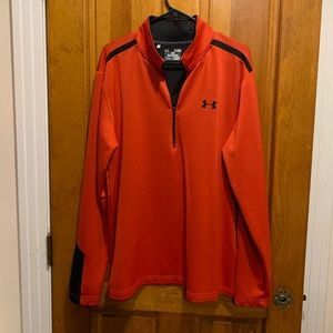 Under Armor Pullover Coldgear jacket Size XL